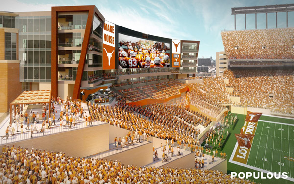 DKR Stadium South Endzone rendering