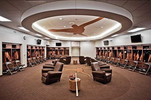 UFCU Disch Falk Field interior renovations