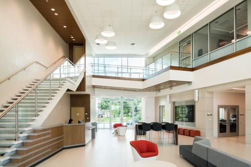 Advanced Computing Building lobby