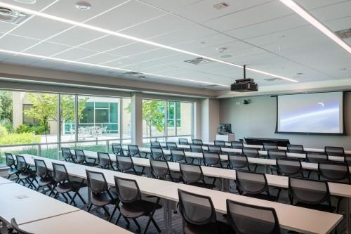 Advanced Computing Building classroom