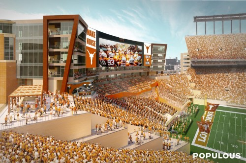 DKR south end zone rendering