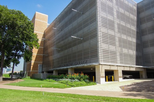 East Campus Parking Garage exterior