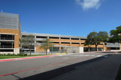 East Campus Parking Garage exterior view