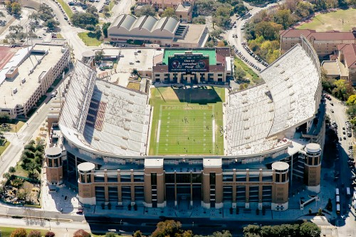 North End Zone Aerial