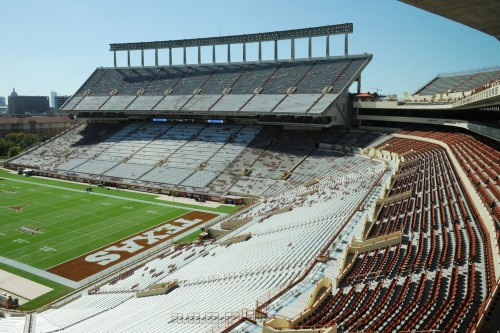 North End Zone Seating
