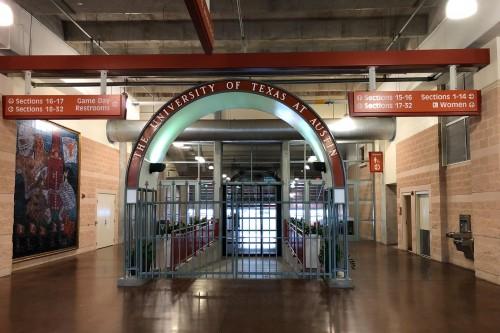 Longhorn Band Entrance