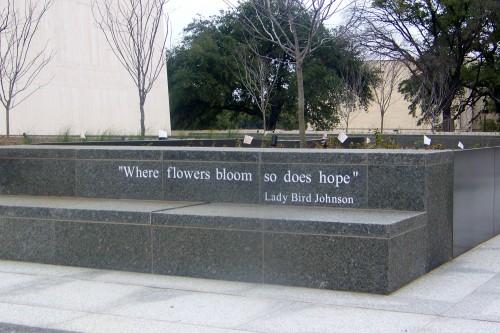 LBJ Library Plaza Planter