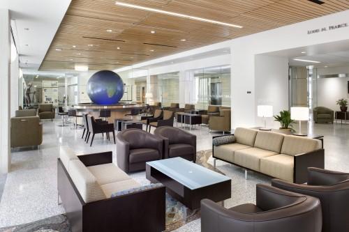 Holland Family Student Center interior