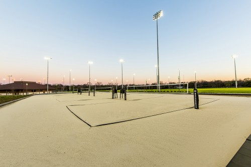 Whitaker Fields sand volleyball courts