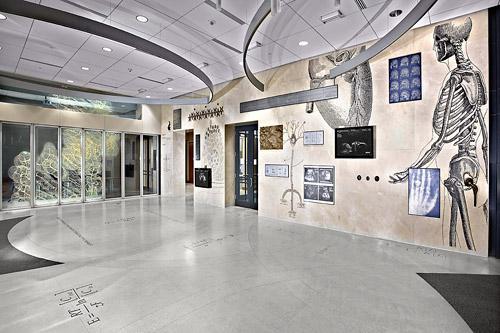 Biomedical Engineering building interior shot